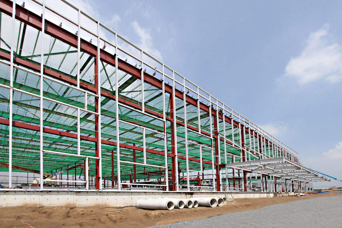 Fabrication & Erection of Steel Structure